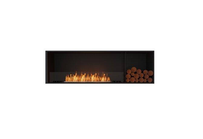 Flex 68SS.BXR Single Sided - Ethanol / Black / Installed View by EcoSmart Fire
