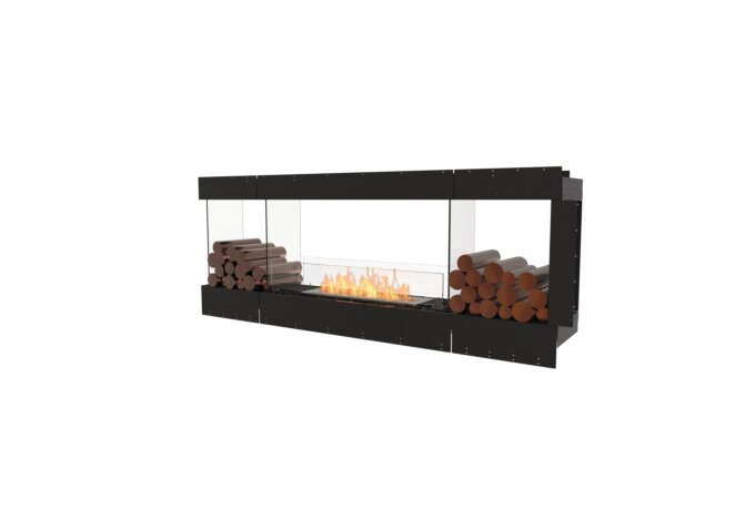 Flex 78PN.BX2 Peninsula - Ethanol / Black / Uninstalled View by EcoSmart Fire