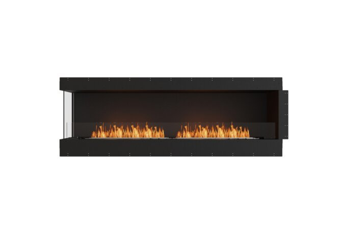 Flex 86LC Left Corner - Ethanol / Black / Uninstalled View by EcoSmart Fire