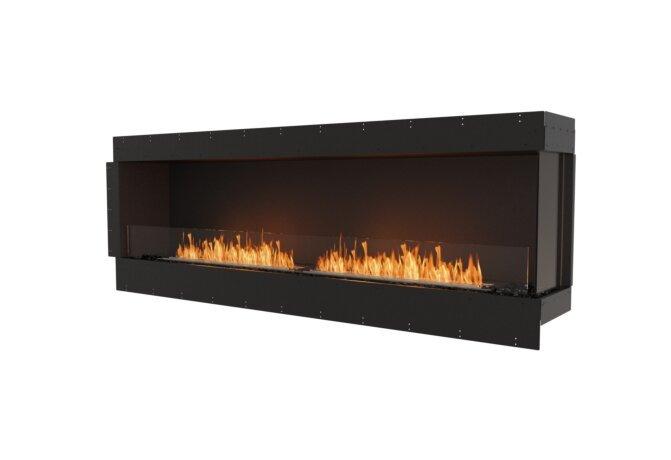 Flex 86RC Flex Fireplace - Ethanol / Black / Uninstalled View by EcoSmart Fire
