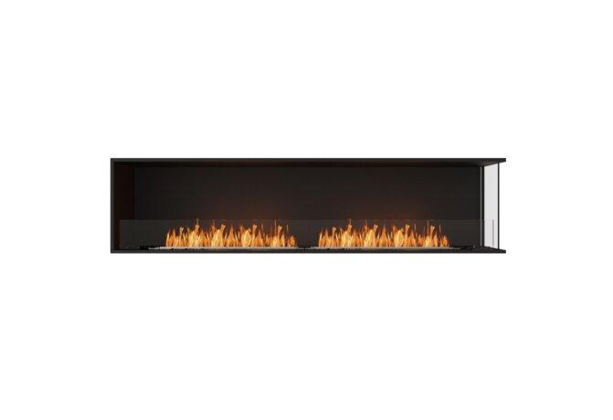 Flex 86RC Flex Fireplace - Ethanol / Black / Installed View by EcoSmart Fire