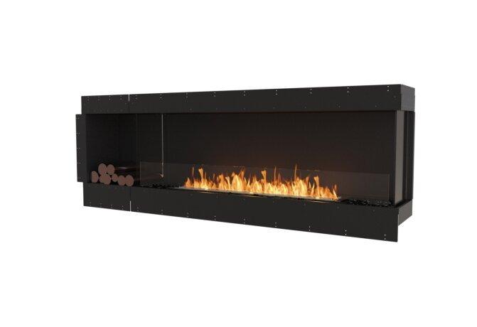 Flex 86RC.BXL Flex Fireplace - Ethanol / Black / Uninstalled View by EcoSmart Fire