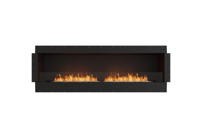 Flex 86SS Flex Fireplace - Ethanol / Black / Uninstalled View by EcoSmart Fire