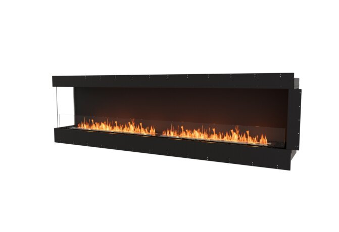 Flex 104LC Flex Fireplace - Ethanol / Black / Uninstalled View by EcoSmart Fire