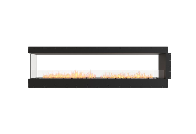 Flex 104PN Peninsula - Ethanol / Black / Uninstalled View by EcoSmart Fire