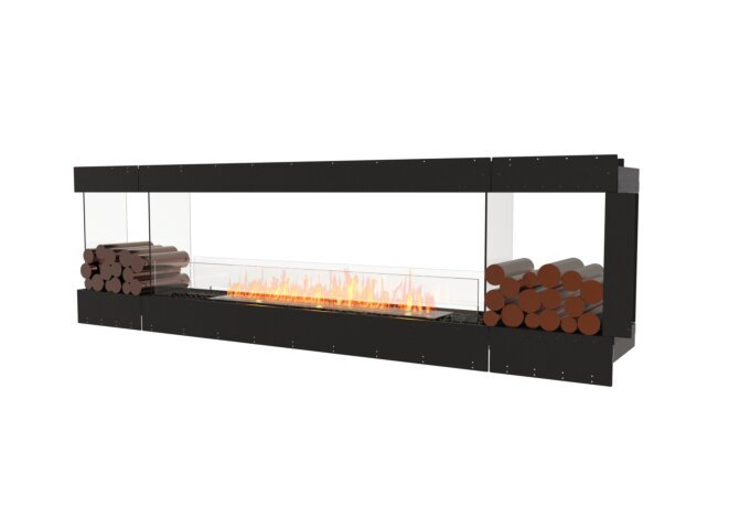 Flex 104PN.BX2 Flex Fireplace - Ethanol / Black / Uninstalled View by EcoSmart Fire