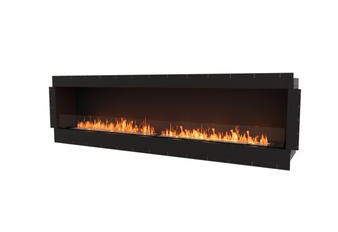 Flex 104SS Flex Fireplace - Ethanol / Black / Uninstalled View by EcoSmart Fire
