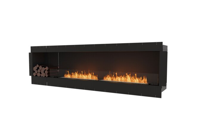 Flex 104SS.BXL Flex Fireplace - Ethanol / Black / Uninstalled View by EcoSmart Fire