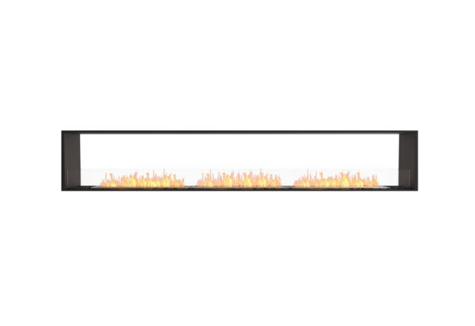 Flex 122DB Double Sided - Ethanol / Black / Installed View by EcoSmart Fire