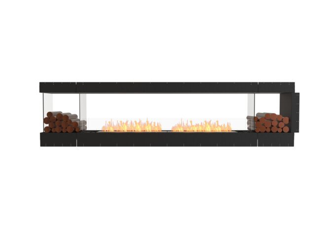 Flex 122PN.BX2 Peninsula - Ethanol / Black / Uninstalled View by EcoSmart Fire