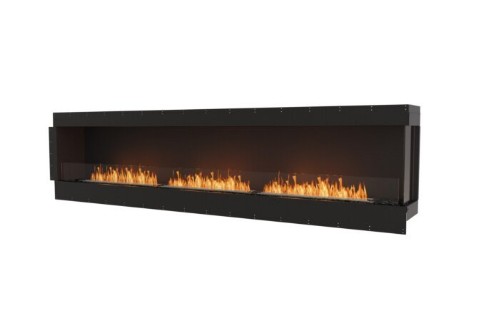 Flex 122RC Right Corner - Ethanol / Black / Uninstalled View by EcoSmart Fire