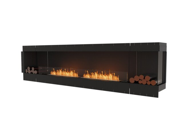 Flex 122RC.BX2 Flex Fireplace - Ethanol / Black / Uninstalled View by EcoSmart Fire