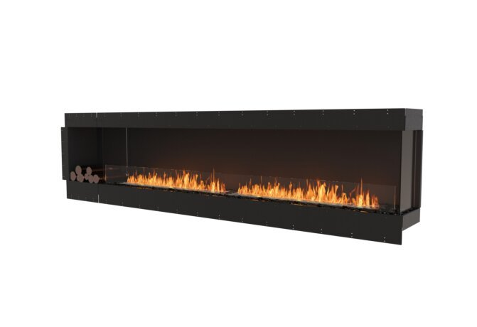 Flex 122RC.BXL Flex Fireplace - Ethanol / Black / Uninstalled View by EcoSmart Fire