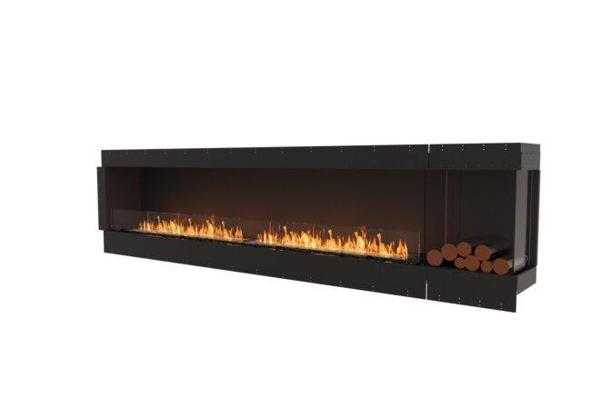 Flex 122RC.BXR Flex Fireplace - Ethanol / Black / Uninstalled View by EcoSmart Fire