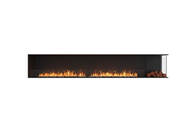 Flex 122RC.BXR Flex Fireplace - Ethanol / Black / Installed View by EcoSmart Fire