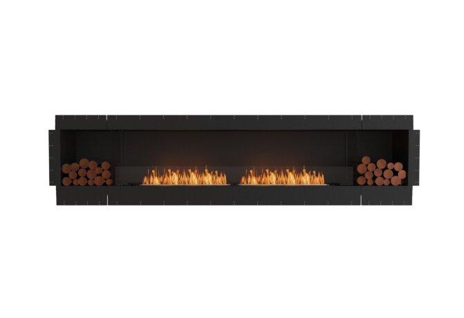 Flex 122SS.BX2 Flex Fireplace - Ethanol / Black / Uninstalled View by EcoSmart Fire