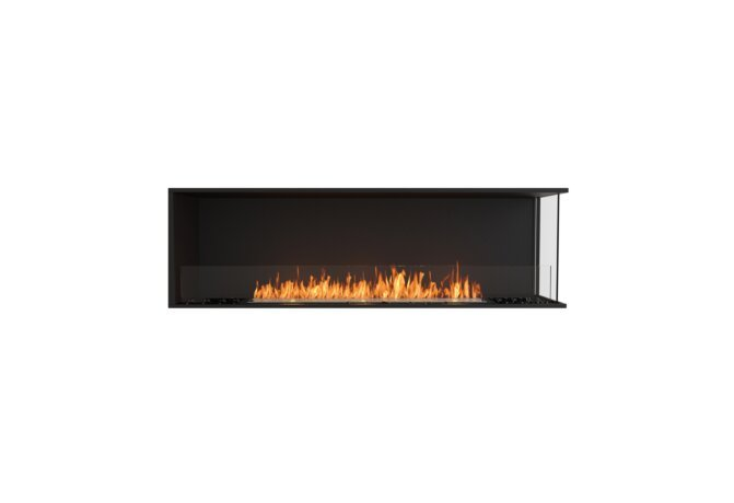 Flex 68RC Flex Fireplace - Ethanol / Black / Installed View by EcoSmart Fire