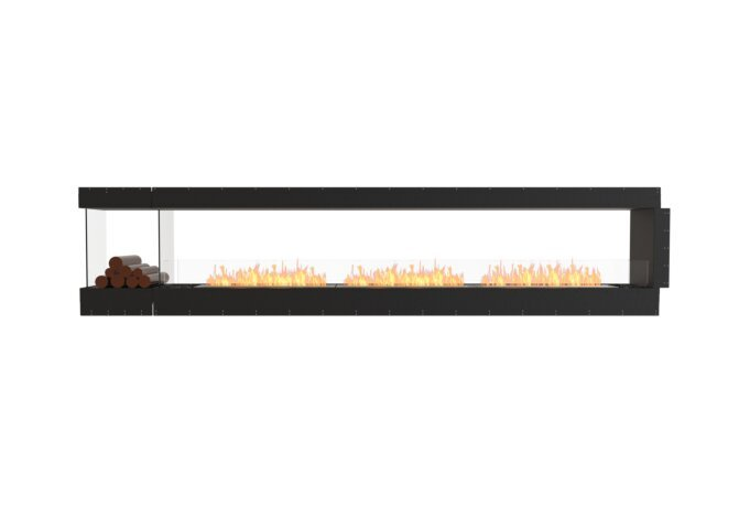 Flex 140PN.BXL Flex Fireplace - Ethanol / Black / Uninstalled View by EcoSmart Fire