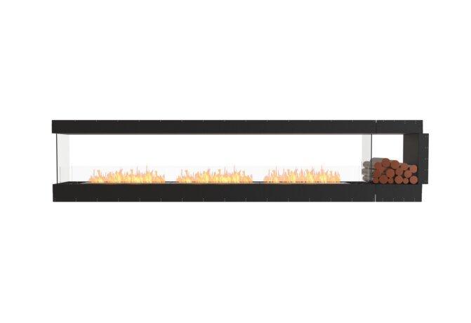 Flex 140PN.BXR Fireplace Insert - Ethanol / Black / Uninstalled View by EcoSmart Fire