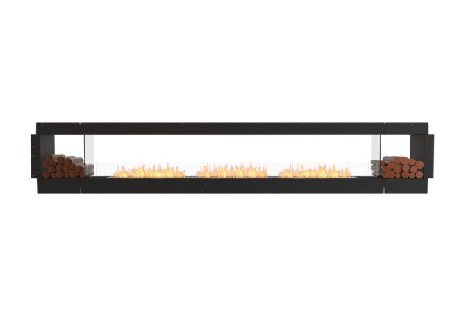 Flex 158DB.BX2 Double Sided - Ethanol / Black / Uninstalled View by EcoSmart Fire