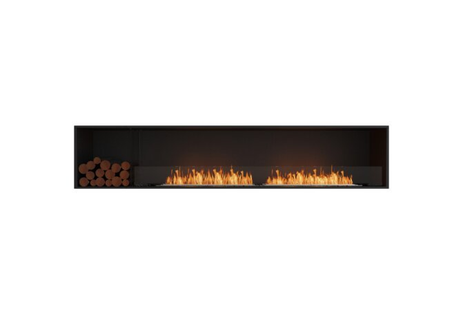Flex 104SS.BXL Single Sided - Ethanol / Black / Installed View by EcoSmart Fire