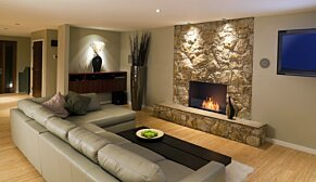 Flex 32SS Flex Fireplace - In-Situ Image by EcoSmart Fire