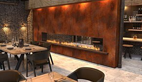 Flex 122DB.BX1 Flex Fireplace - In-Situ Image by EcoSmart Fire