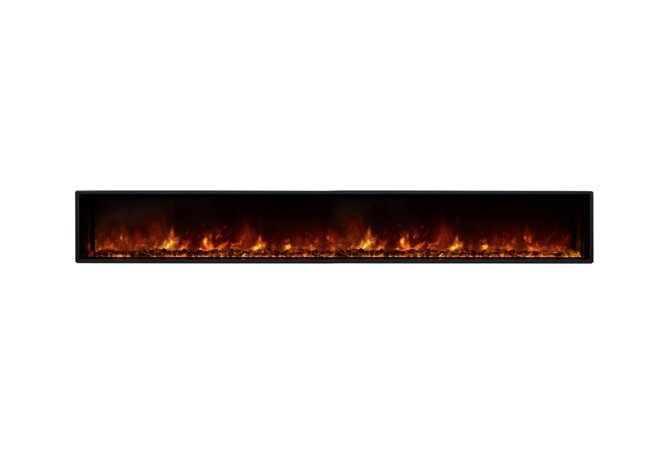 EL100 Electric Fireplace - Electric / Black by EcoSmart Fire