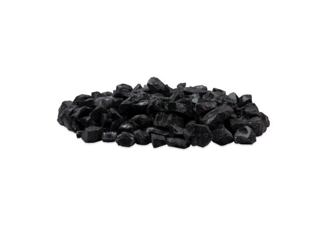 Black Glass Charcoal Parts & Accessorie - Black by EcoSmart Fire