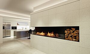 Flex 78LC.BX2 Flex Fireplace - In-Situ Image by EcoSmart Fire