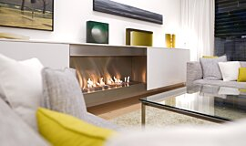 Paddington Residence Indoor Fireplaces Ethanol Burner Idea