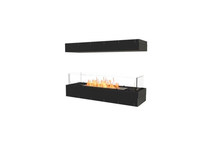 Flex 42IL Flex Fireplace - Ethanol / Black / Uninstalled View by EcoSmart Fire