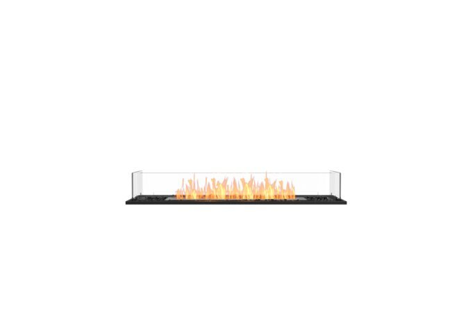 Flex 50BN Flex Fireplace - Ethanol / Black / Installed View by EcoSmart Fire