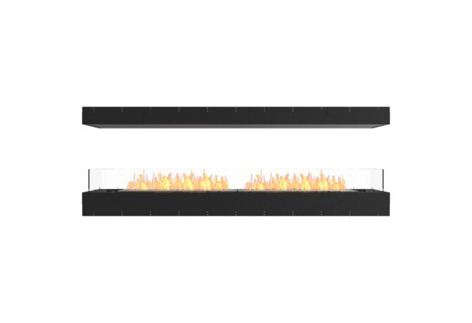 Flex 86IL Flex Fireplace - Ethanol / Black / Uninstalled View by EcoSmart Fire