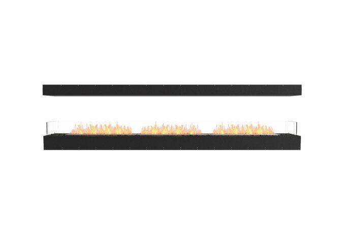 Flex 122IL Flex Fireplace - Ethanol / Black / Uninstalled View by EcoSmart Fire