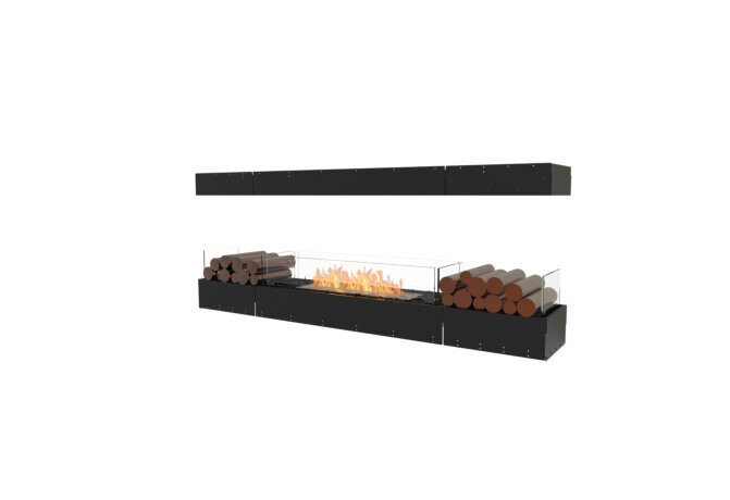 Flex 78IL.BX2 Island - Ethanol / Black / Uninstalled View by EcoSmart Fire