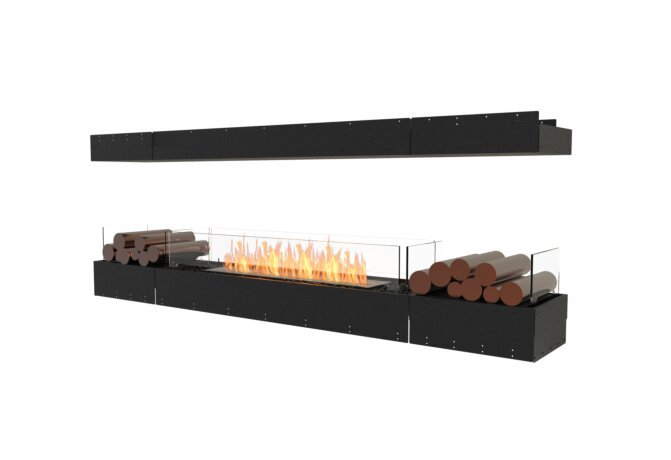 Flex 86IL.BX2 Flex Fireplace - Ethanol / Black / Uninstalled View by EcoSmart Fire