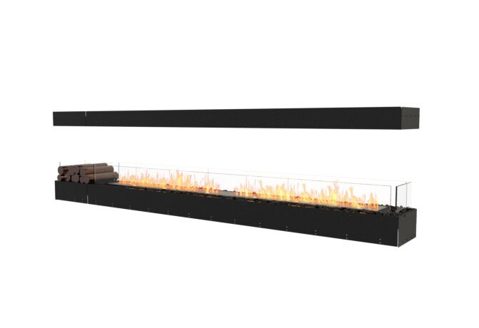 Flex 122IL.BX1 Flex Fireplace - Ethanol / Black / Uninstalled View by EcoSmart Fire