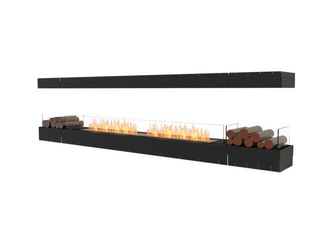 Flex 122IL.BX2 Flex Fireplace - Ethanol / Black / Uninstalled View by EcoSmart Fire