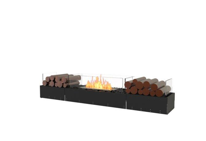 Flex 68BN.BX2 Flex Fireplace - Ethanol / Black / Uninstalled View by EcoSmart Fire