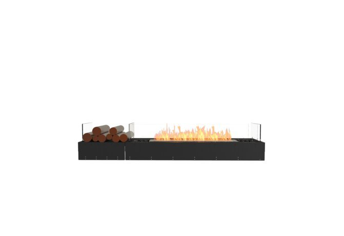 Flex 68BN.BX1 Bench - Ethanol / Black / Uninstalled View by EcoSmart Fire