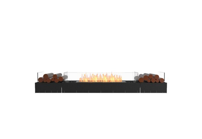 Flex 86BN.BX2 Flex Fireplace - Ethanol / Black / Uninstalled View by EcoSmart Fire