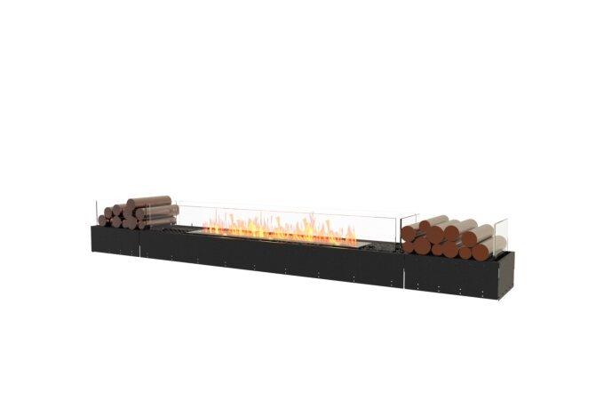 Flex 104BN.BX2 Flex Fireplace - Ethanol / Black / Uninstalled View by EcoSmart Fire