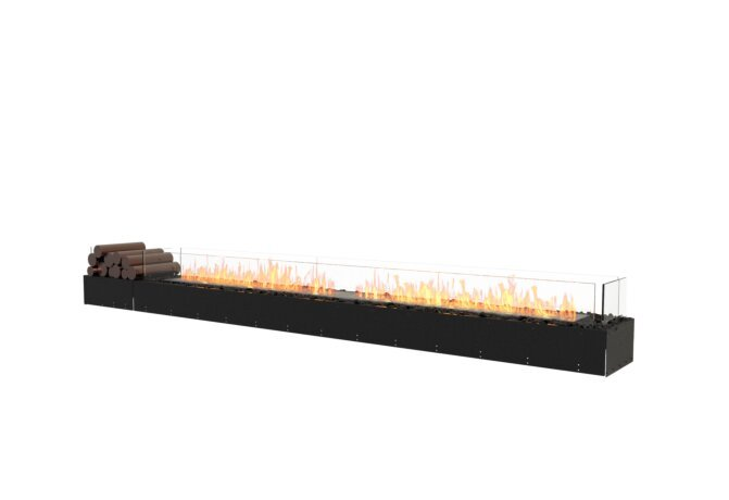 Flex 122BN.BX1 Bench - Ethanol / Black / Uninstalled View by EcoSmart Fire