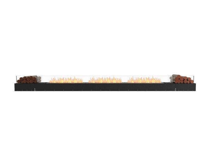 Flex 158BN.BX2 Flex Fireplace - Ethanol / Black / Uninstalled View by EcoSmart Fire