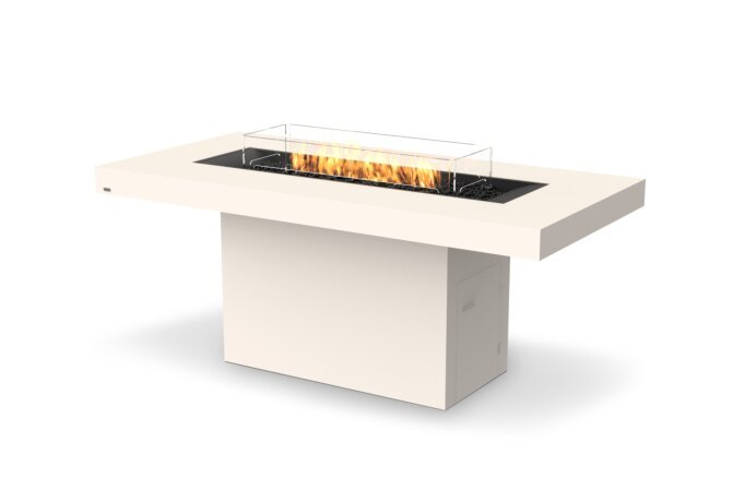 Gin 90 (Bar) Fire Table - Gas LP/NG / Bone by EcoSmart Fire