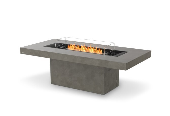 Gin 90 (Dining) Fire Table - Ethanol / Natural by EcoSmart Fire