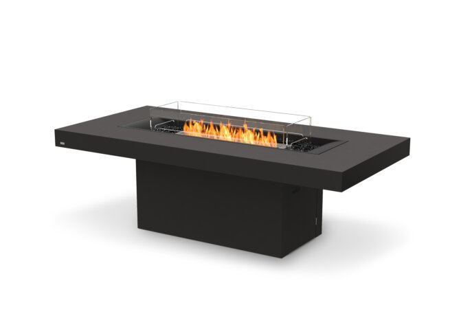 Gin 90 (Dining) Fire Table - Ethanol / Graphite by EcoSmart Fire