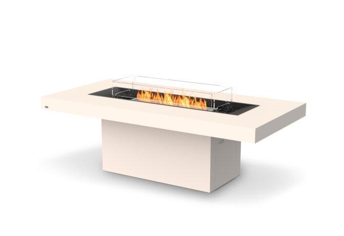 Gin 90 (Dining) Fire Table - Ethanol / Bone by EcoSmart Fire