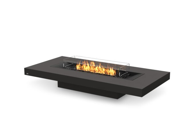 Gin 90 (Low) Fire Table - Gas LP/NG / Graphite by EcoSmart Fire